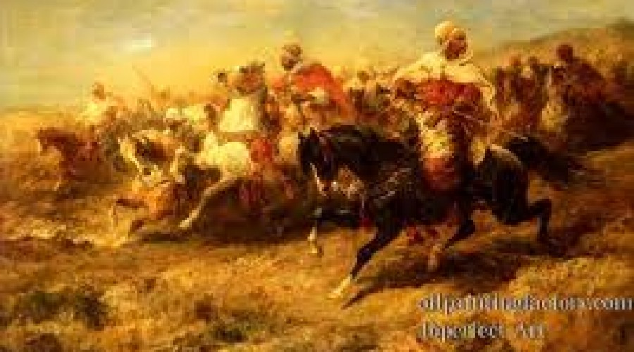 Islam History 12 / The Jews aided the Muslim invaders & Charles Martel defeated the Muslims at the battle of Tours (732 A.D.)